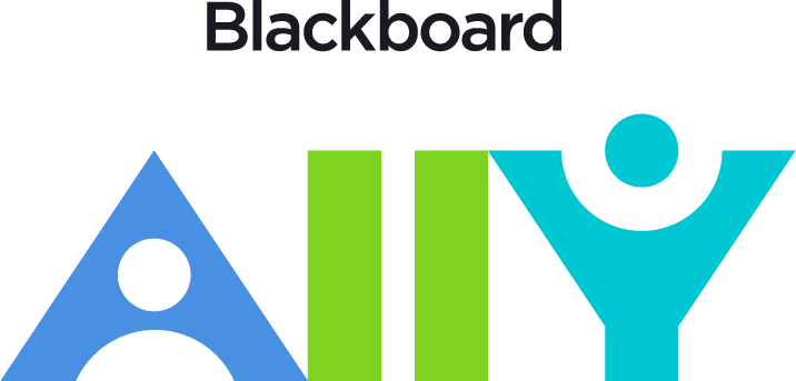 Blackboard Ally logo and link